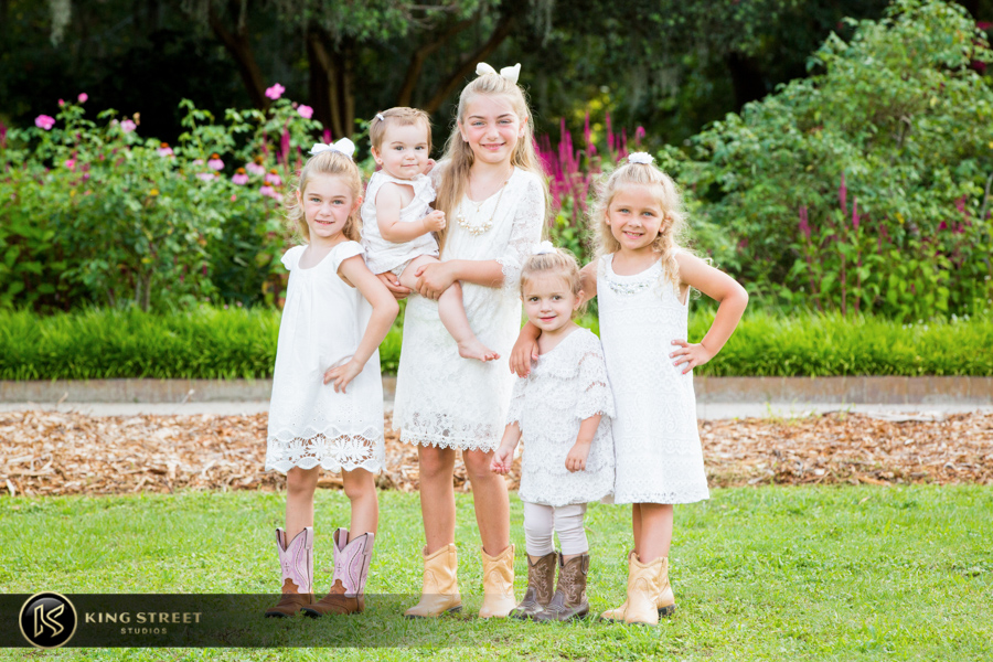 family portrait photography by charleston family photographers king street studios