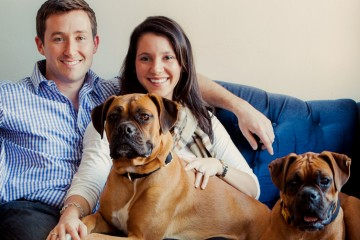 family pictures and pet pictures by charleston portrait photographers king street studios