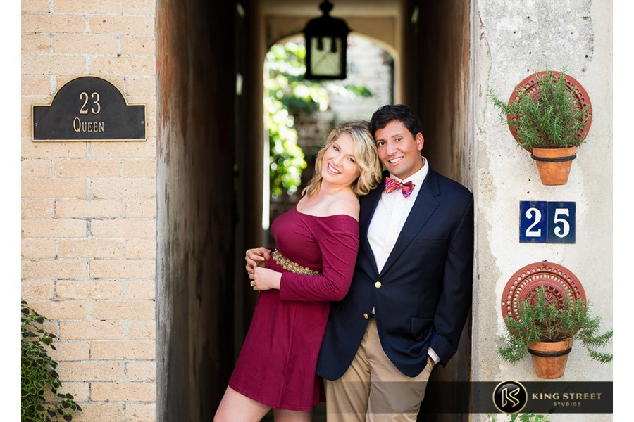 engagement pictures by charleston engagement photographers king street studios (202)