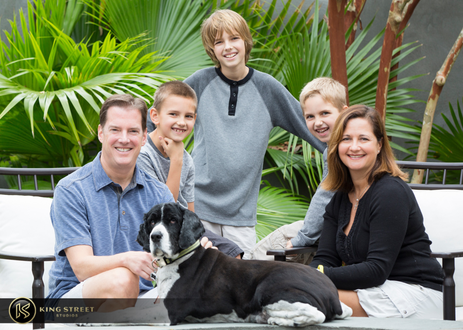 family portraits by charleston family portrait photographers king street studios