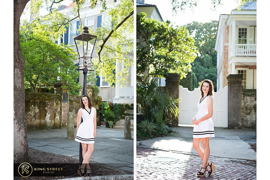 high school senior portraits by charleston senior portrait photographers king street studios