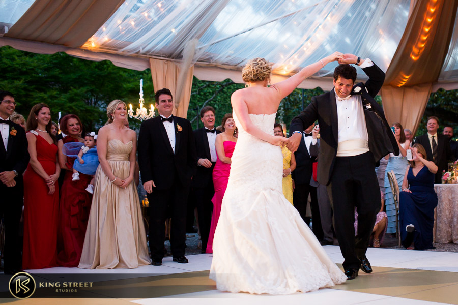 charleston wedding photography first dance pictures at the william aiken house by charleston wedding photographers king street studios