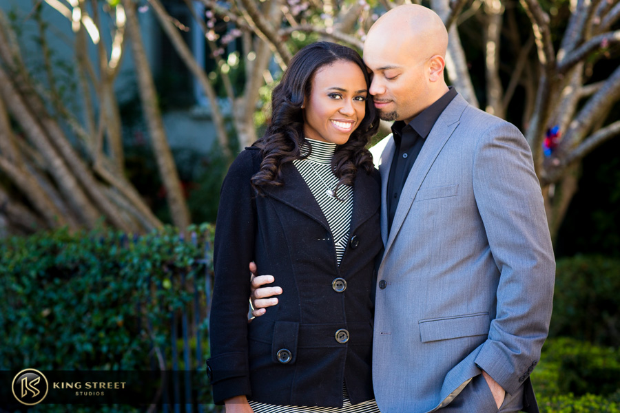 downtown charleston engagement pictures by charleston photographers king street studios-16