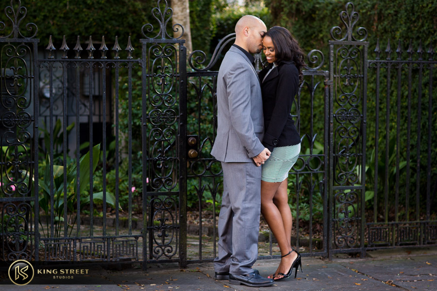 downtown charleston engagement pictures by charleston photographers king street studios-20