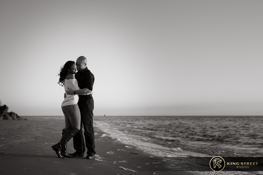 engagement photos charleston beach by best charleston wedding photographers king street studios