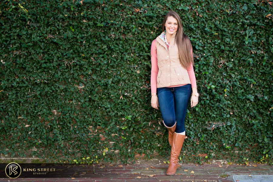 best charleston sc senior pictures by top senior portrait photographers king street studios