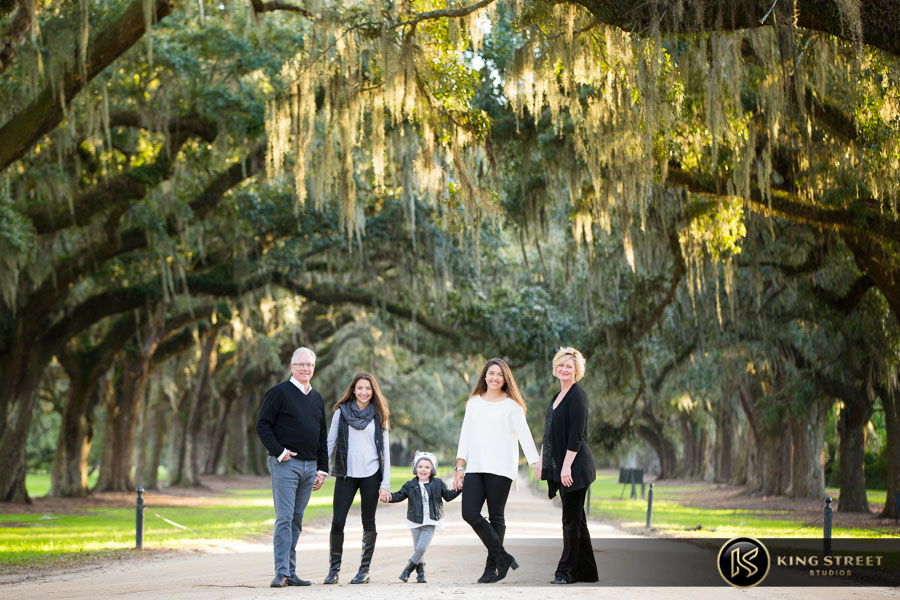 family photos in charleston sc by charleston family portrait photographers king street studios