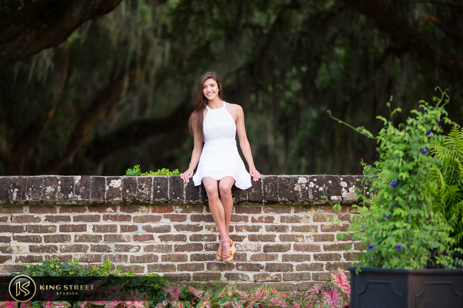 senior pictures at boone hall plantation by charleston senior portrait photographers king street studios (18)