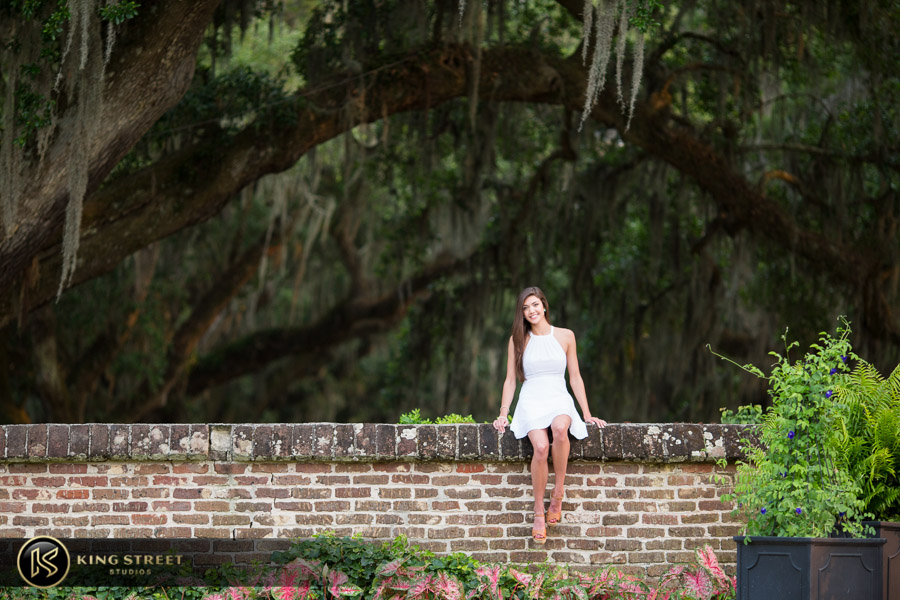 senior pictures at boone hall plantation by charleston senior portrait photographers king street studios (19)