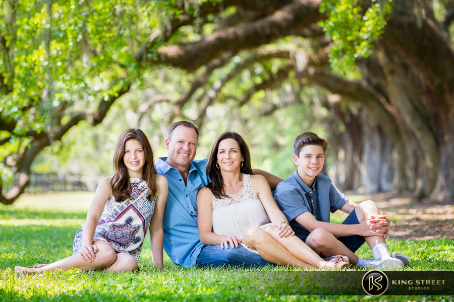charleston sc family photos by family portrait photographers king street studios
